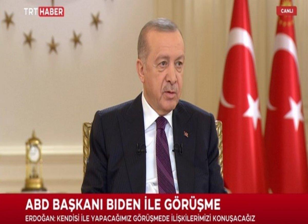 Cumhurbaşkanı Erdoğan dan canlı yayında açıklamalar #3