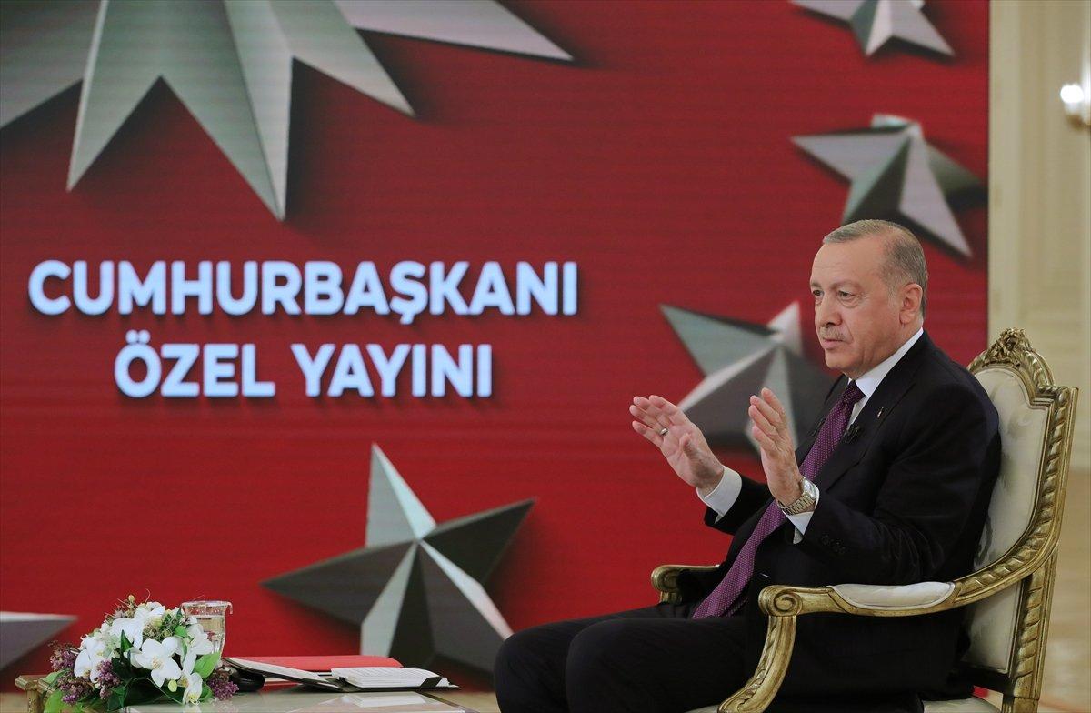 Cumhurbaşkanı Erdoğan: Müjde için cuma gününü bekleyin #1