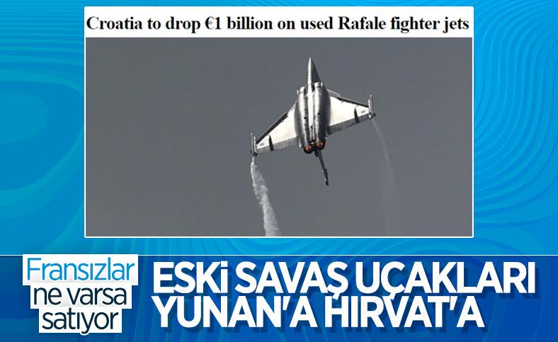 Hırvatistan, Fransa'dan 12 adet ikinci el Rafale satın alacak