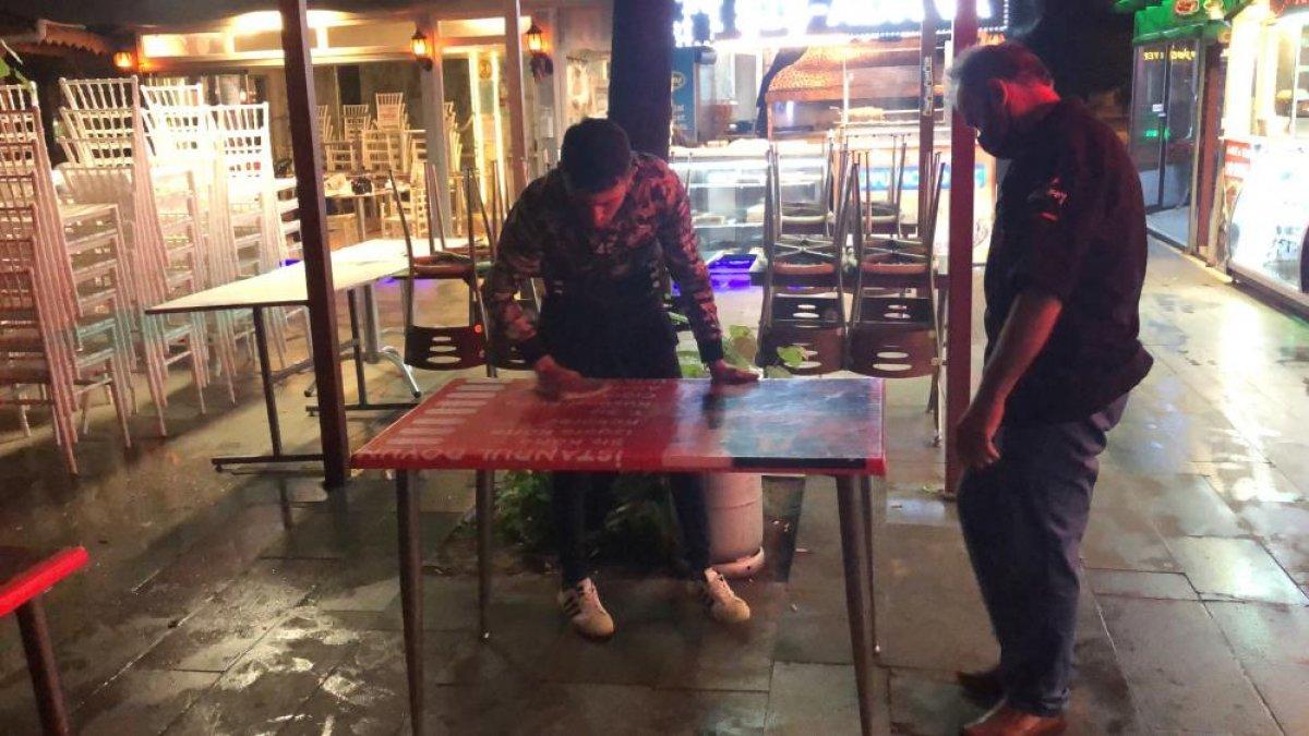 Kafe ve restoranlarda kademeli normalleşme temizliği #1