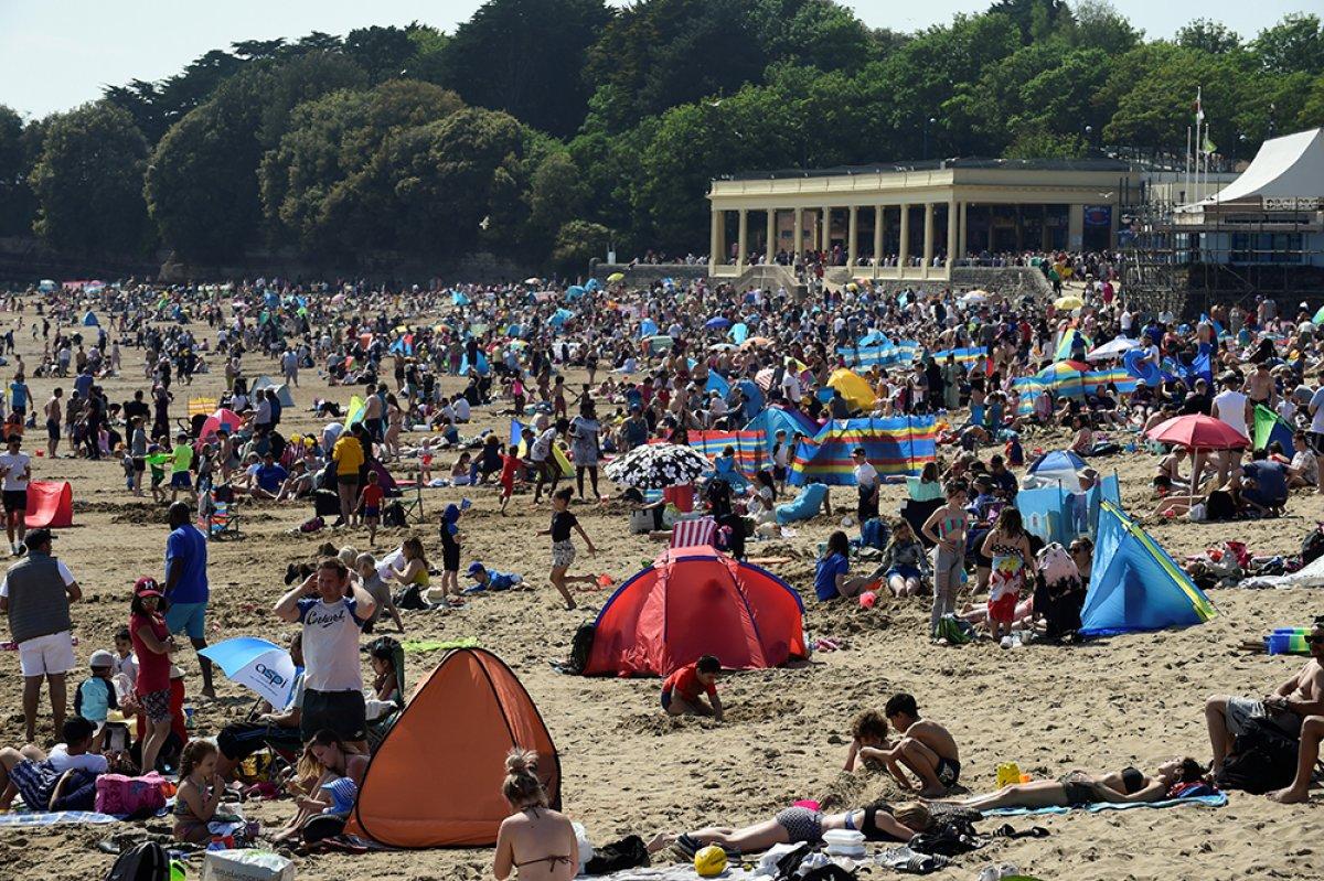 İngiltere sahillerinde yoğunluk #1
