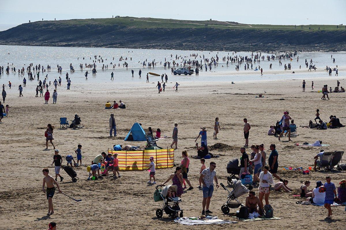 İngiltere sahillerinde yoğunluk #2