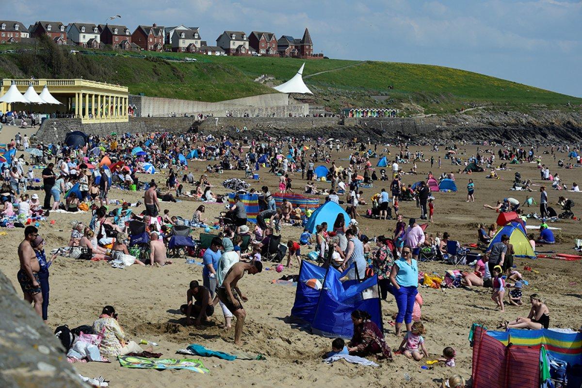 İngiltere sahillerinde yoğunluk #5