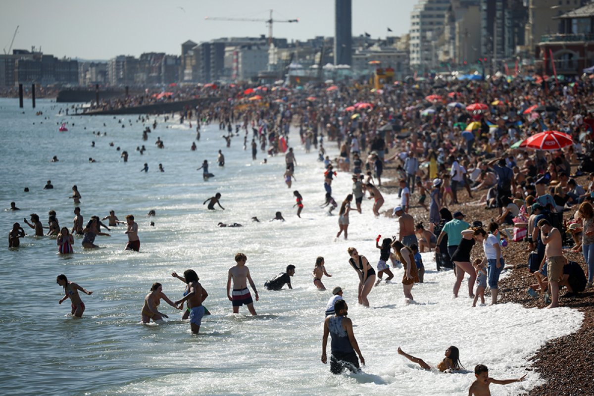 İngiltere sahillerinde yoğunluk #6