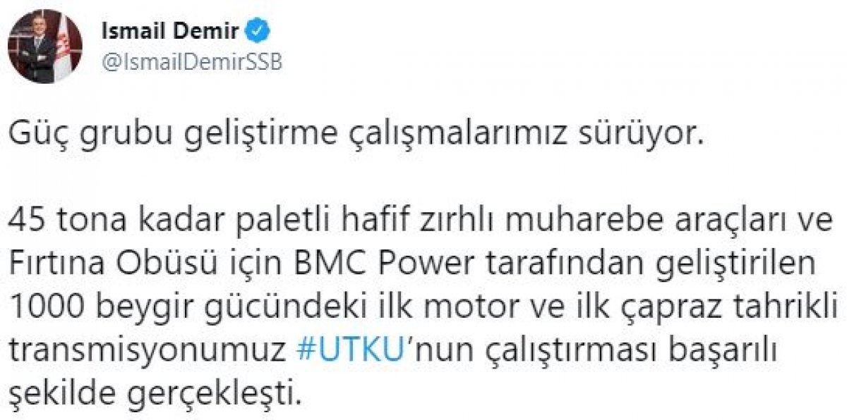 Türkiye nin 1000 beygir gücündeki ilk motoru çalıştırıldı #2