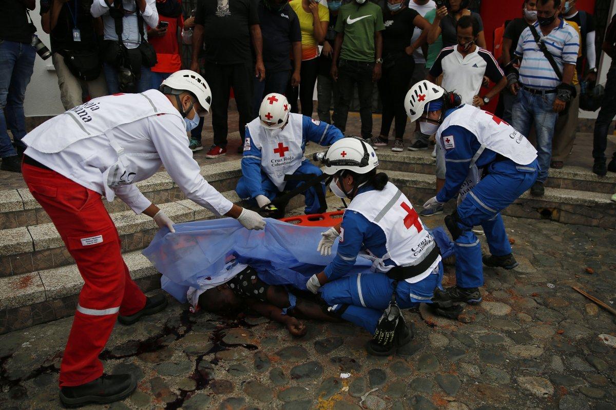 Kolombiya'da, gösterilerde toplam 48 kişi öldü #1