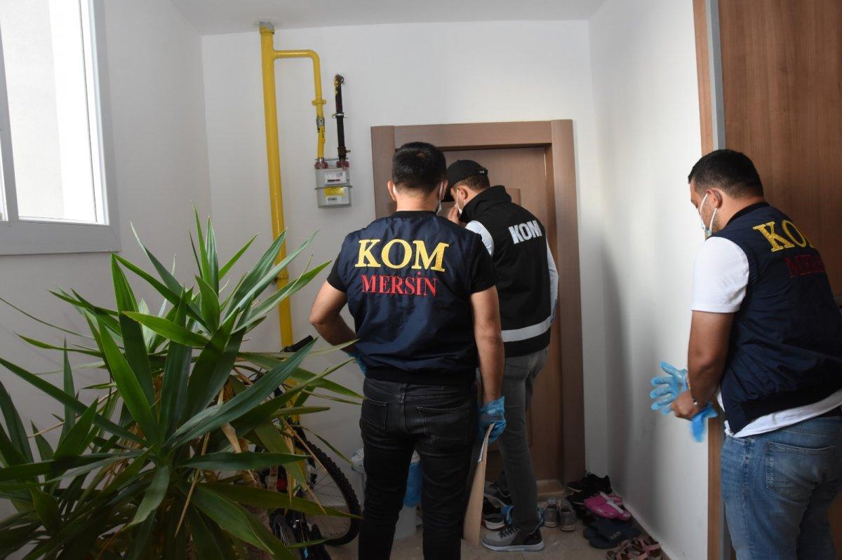 Mersin merkezli 14 ilde  suç örgütü  operasyonu: 103 gözaltı #1