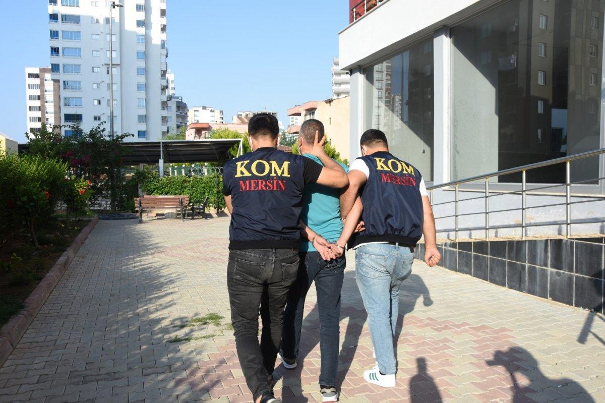 Mersin merkezli 14 ilde  suç örgütü  operasyonu: 103 gözaltı #5