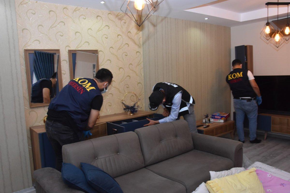 Mersin merkezli 14 ilde  suç örgütü  operasyonu: 103 gözaltı #4
