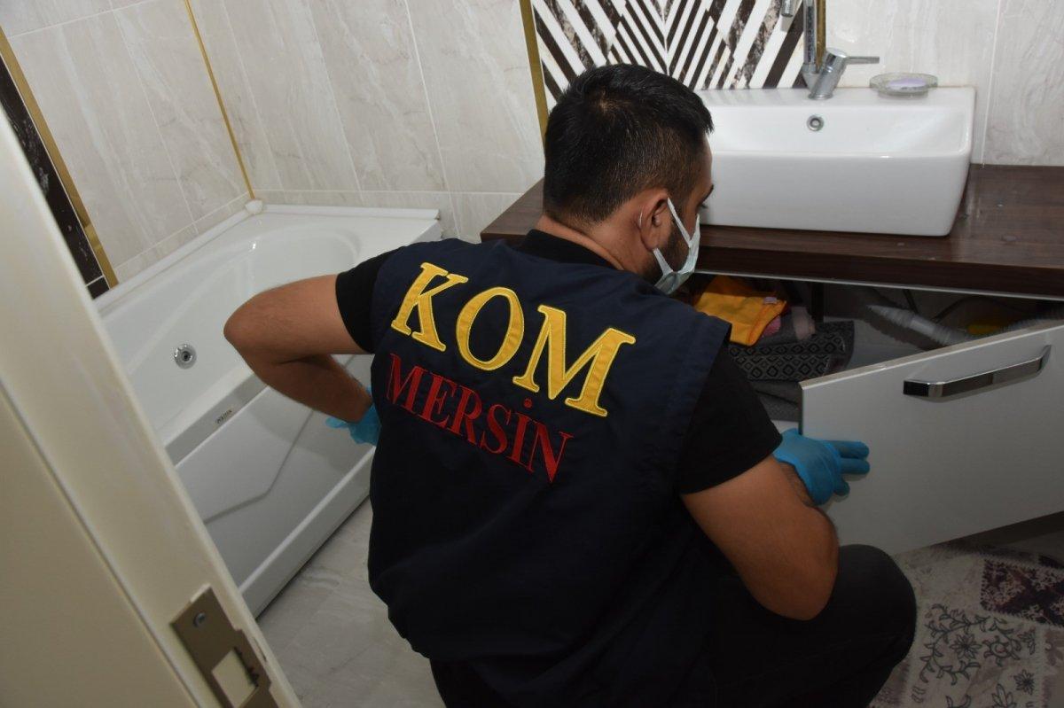 Mersin merkezli 14 ilde  suç örgütü  operasyonu: 103 gözaltı #3