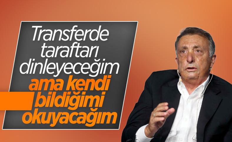 Ahmet Nur Çebi: Transferde taraftarı dinleyeceğim