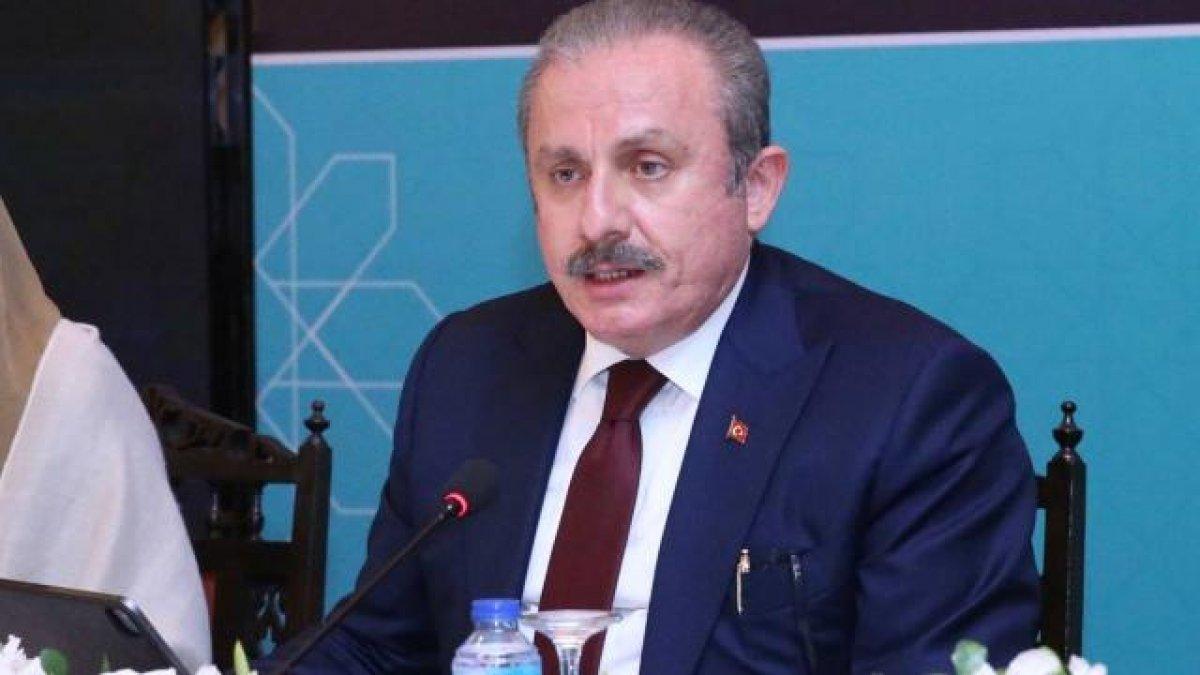 TBMM Başkanı Şentop tan Kılıçdaroğlu na cevap #1