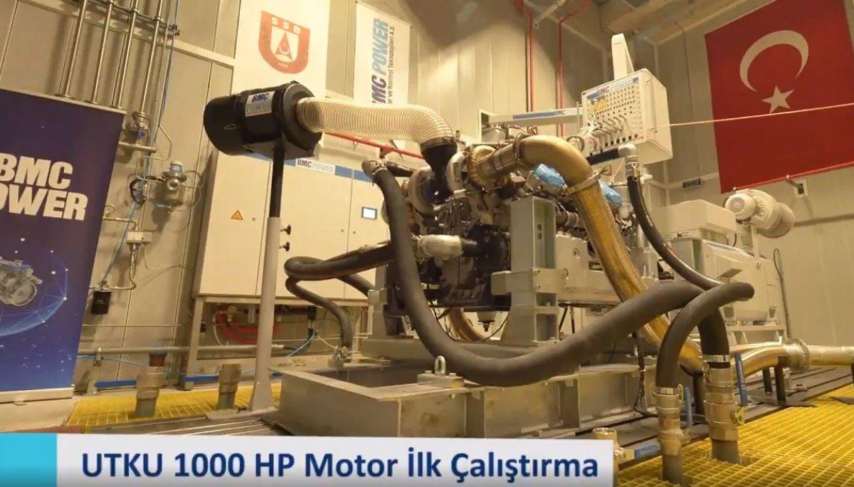 Türkiye nin 1000 beygir gücündeki ilk motoru çalıştırıldı #1