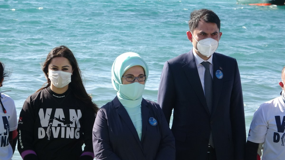 Emine Erdoğan ve Murat Kurum'un Van ziyareti #4