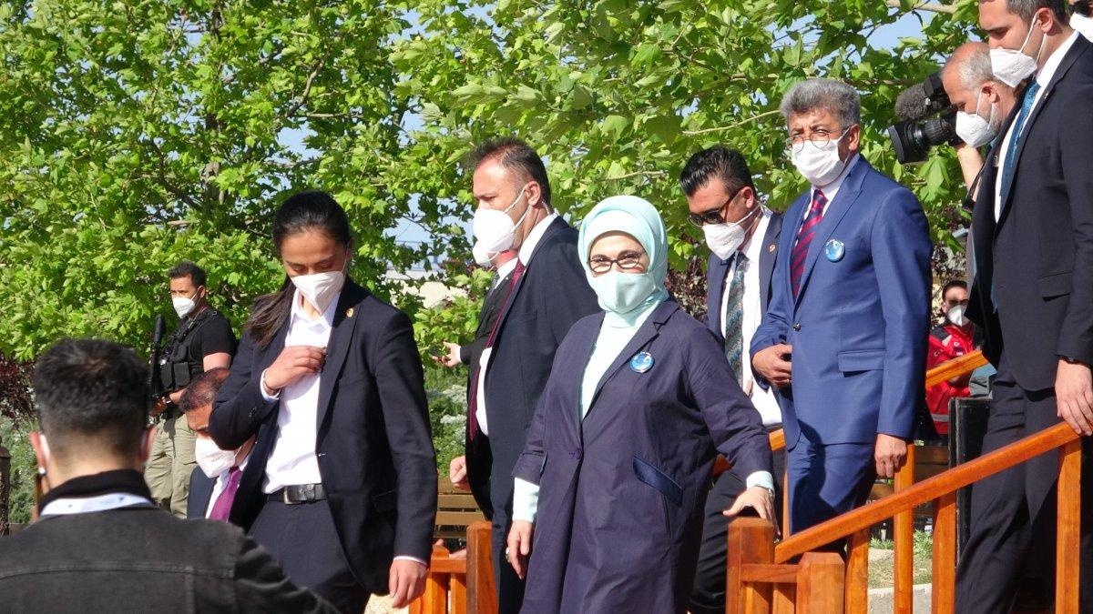 Emine Erdoğan ve Murat Kurum'un Van ziyareti #1