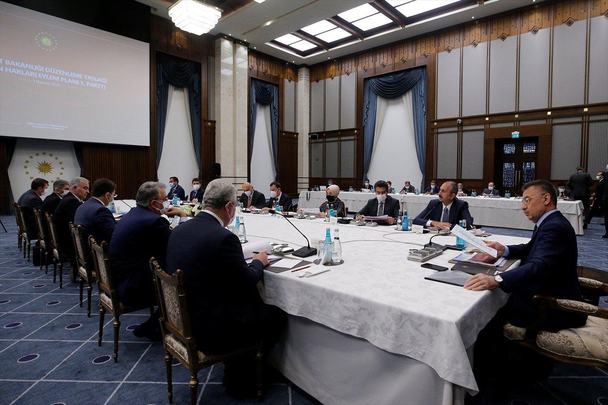 4 üncü Yargı Paketi ndeki düzenlemelerle ilgili toplantı yapıldı #1