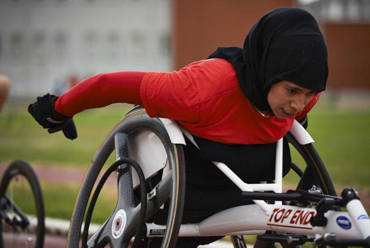 Para Atletizm Avrupa Şampiyonası nda Zübeyde Süpürgeci den altın madalya #2