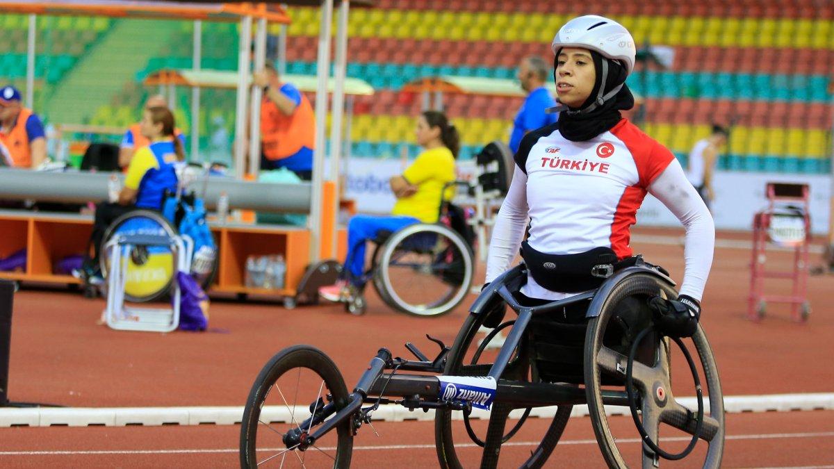 Para Atletizm Avrupa Şampiyonası nda Zübeyde Süpürgeci den altın madalya #3