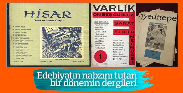 Türkiye'de bir dönem dergiler edebiyatın nabzını tutuyordu