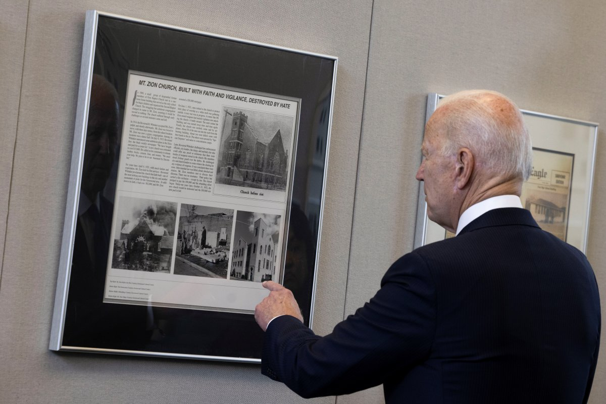 Joe Biden, Tulsa'yı ziyaret eden ilk ABD Başkanı oldu #1