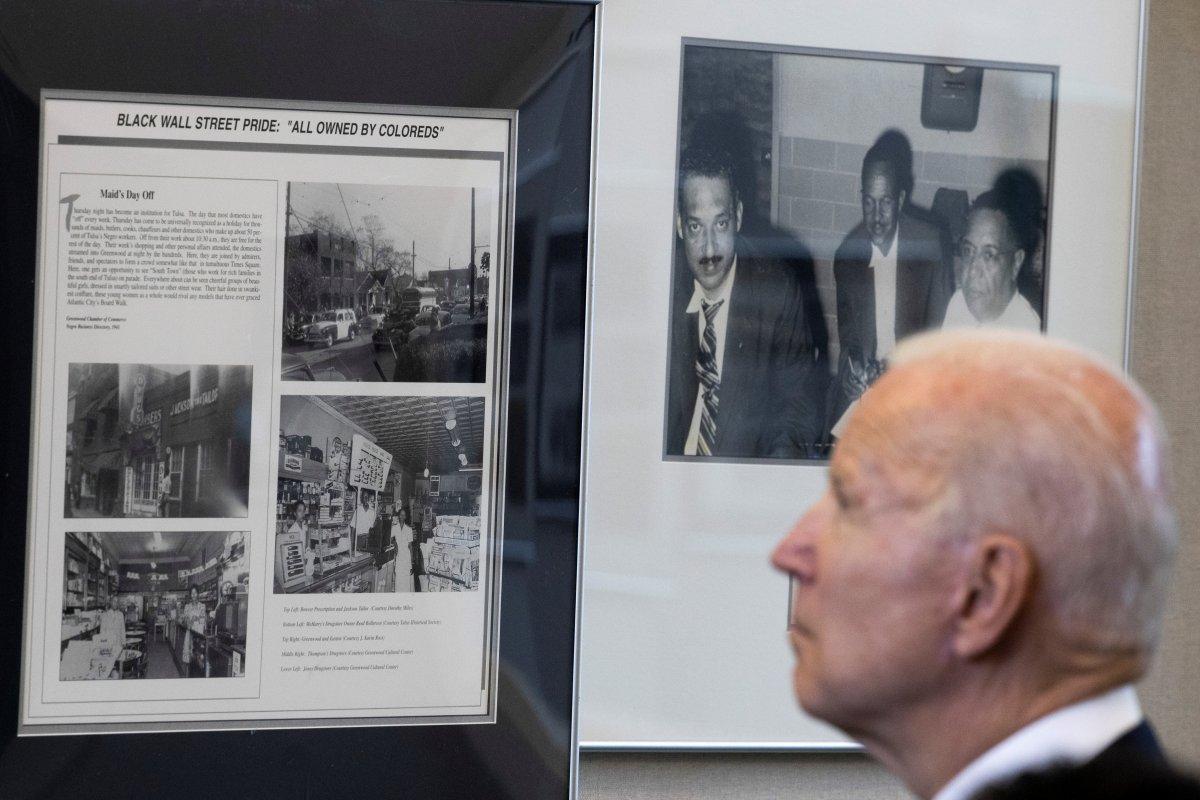Joe Biden, Tulsa'yı ziyaret eden ilk ABD Başkanı oldu #3