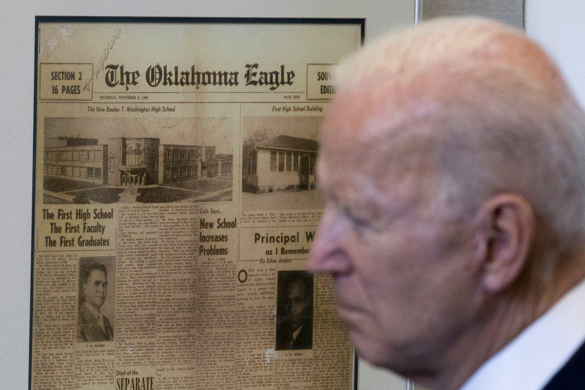 Joe Biden, Tulsa'yı ziyaret eden ilk ABD Başkanı oldu #4
