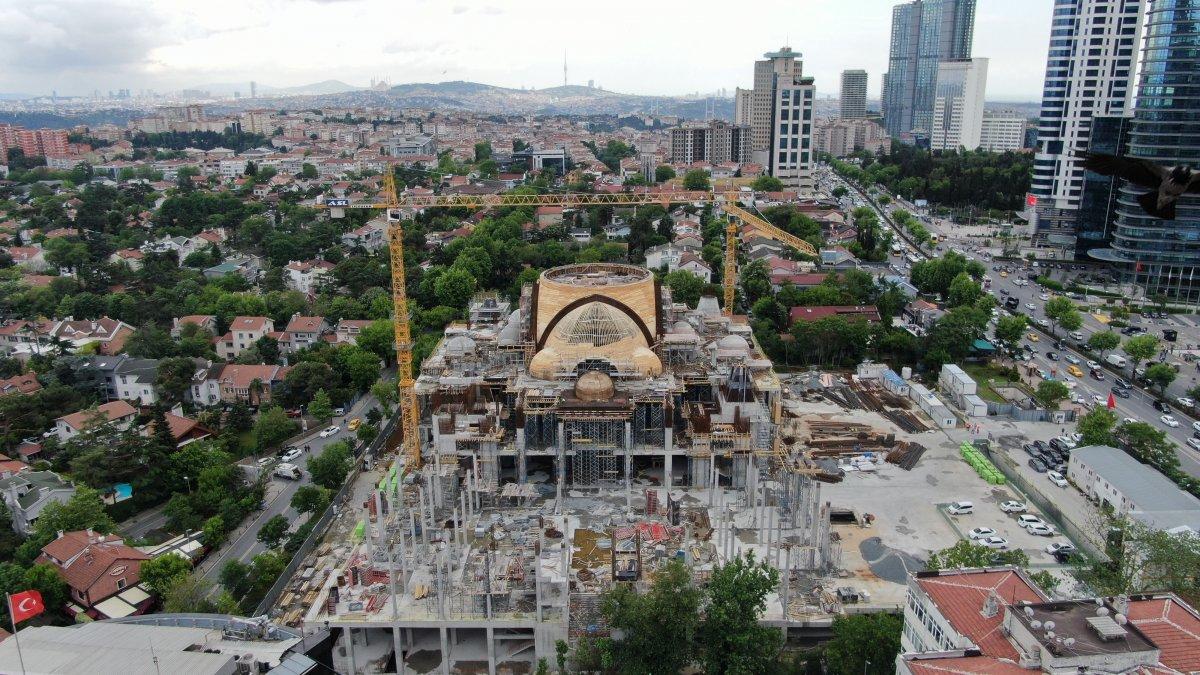 Barbaros Hayrettin Paşa Cami nin yüzde 75 i tamamlandı #2