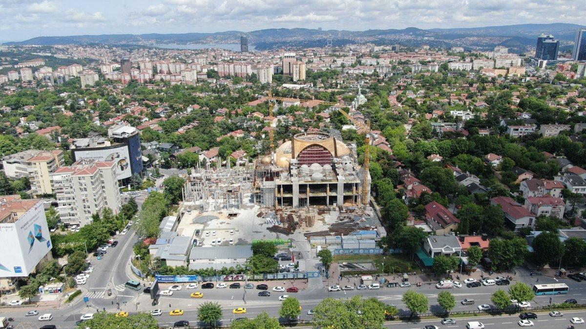 Barbaros Hayrettin Paşa Cami nin yüzde 75 i tamamlandı #4