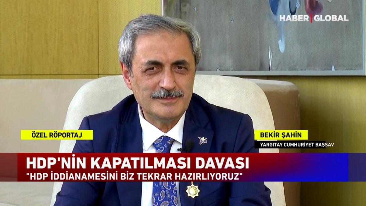 Bekir Şahin: HDP iddianamesini tekrar hazırlıyoruz #1