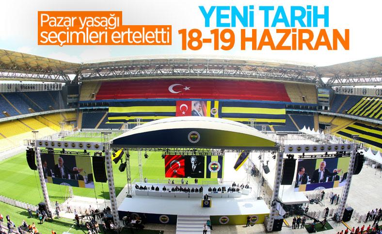 Fenerbahçe'de seçim tarihi güncellendi