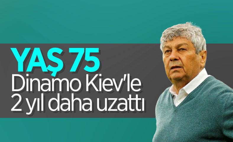 Mircea Lucescu, Dinamo Kiev'le sözleşme uzattı