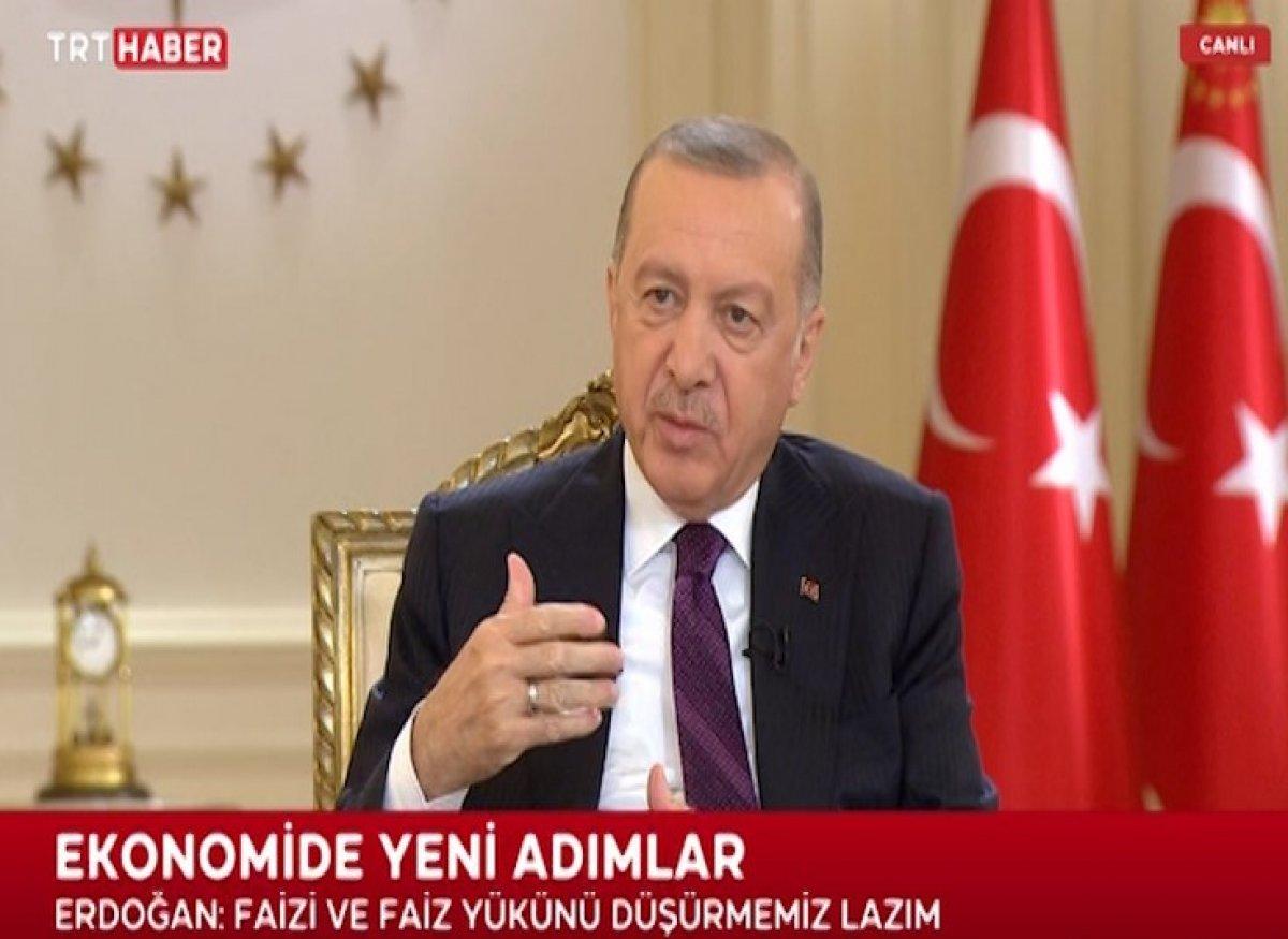 Cumhurbaşkanı Erdoğan dan canlı yayında açıklamalar #5