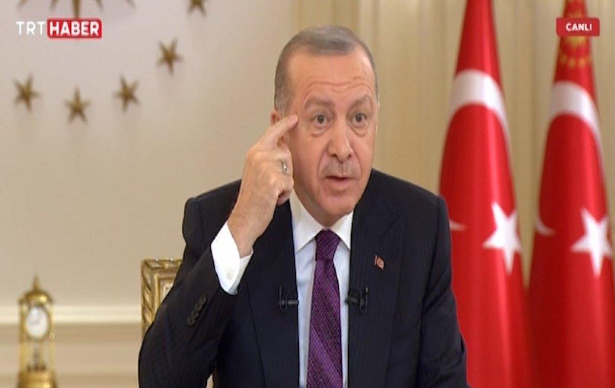 Cumhurbaşkanı Erdoğan dan Kanal İstanbul açıklaması #1
