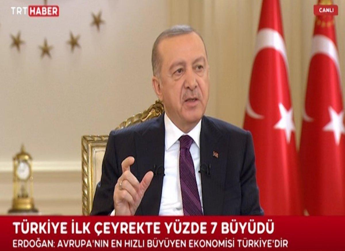 Cumhurbaşkanı Erdoğan dan canlı yayında açıklamalar #4