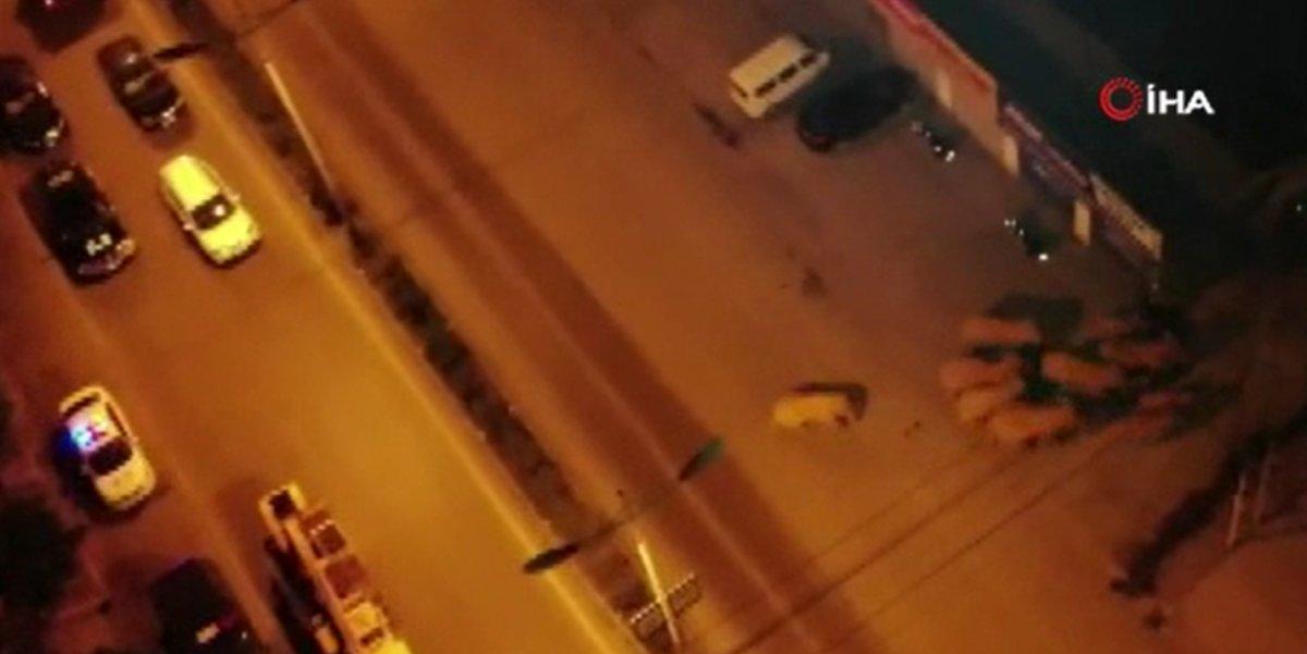 Çin'de filler şehir merkezine indi, yollar kapatıldı  #4