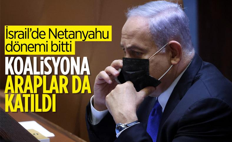 İsrail'de Netanyahu'ya karşı koalisyon hükümeti kuruldu