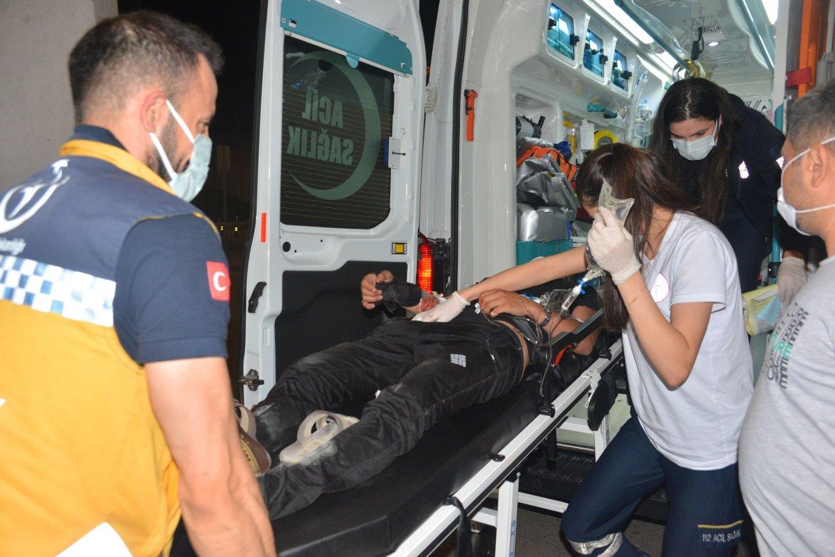 Adana'da silahlı kavga: 1 ağır yaralı #2
