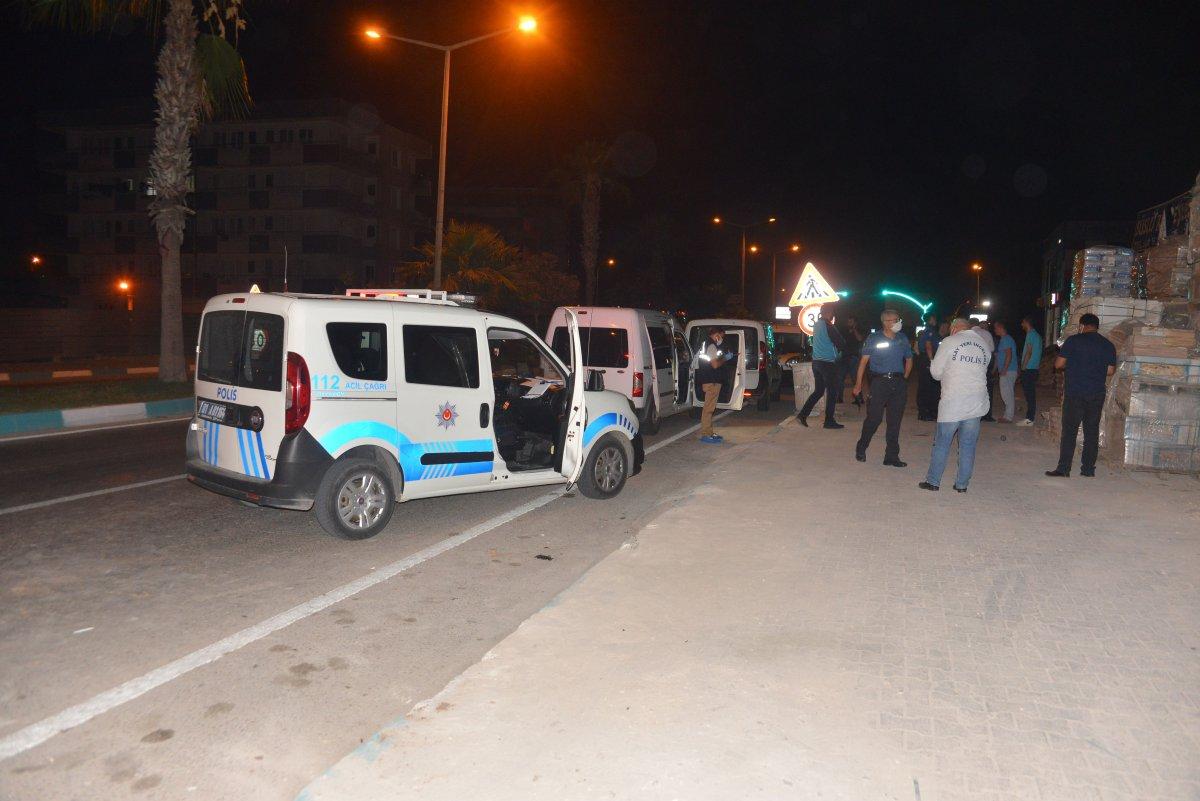 Adana'da silahlı kavga: 1 ağır yaralı #1