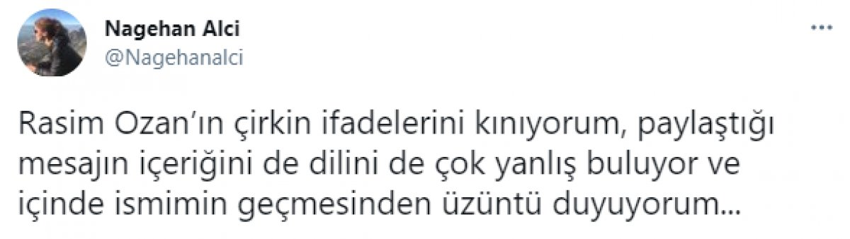 Nagehan Alçı ve Rasim Ozan Kütahyalı sosyal medyada birbirine girdi #3
