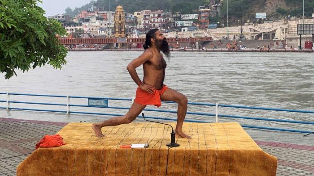 Hindistan da yoga gurusu Ramdev ile sağlık çalışanları karşı karşıya #5