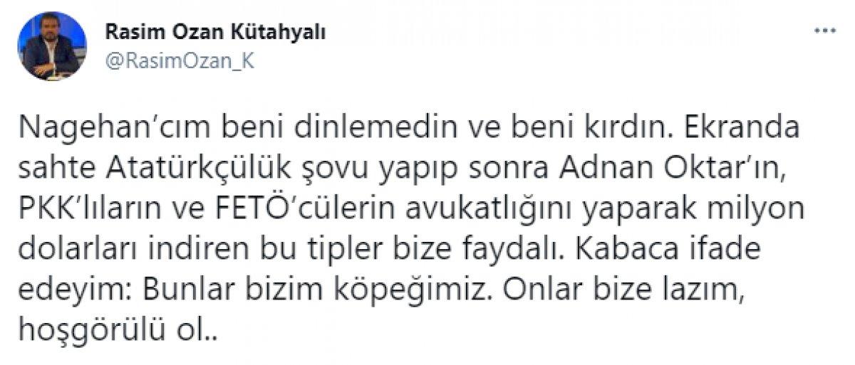 Nagehan Alçı ve Rasim Ozan Kütahyalı sosyal medyada birbirine girdi #2