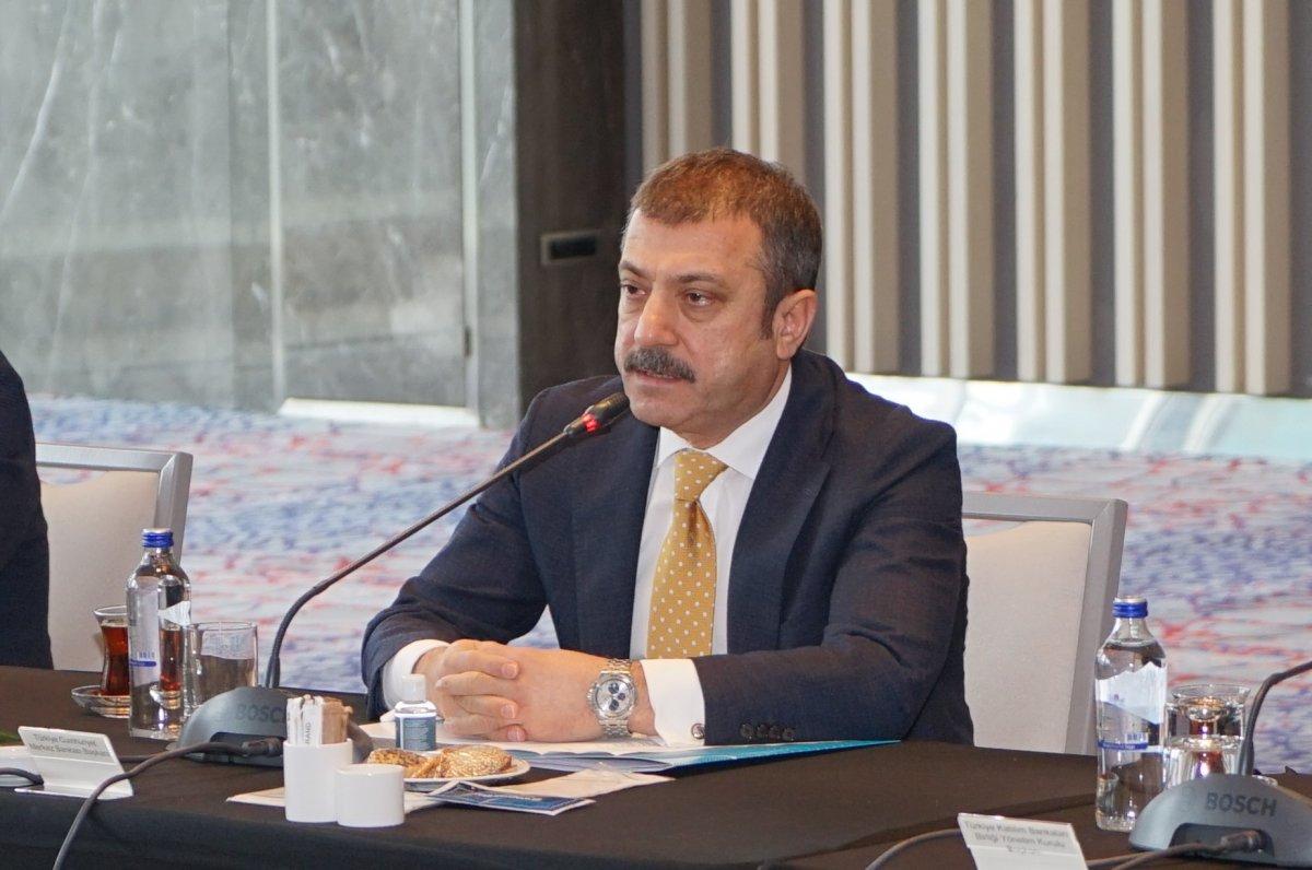 Şahap Kavcıoğlu: Politika faizini enflasyonun üzerinde tutma kararlılığımız devam edecek #1