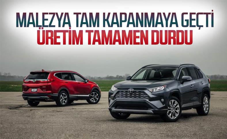 Toyota ve Honda, koronavirüs nedeniyle Malezya'da üretime ara verecek