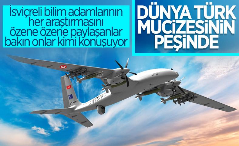 Türkiye'nin İHA gücü, İsviçre basınında