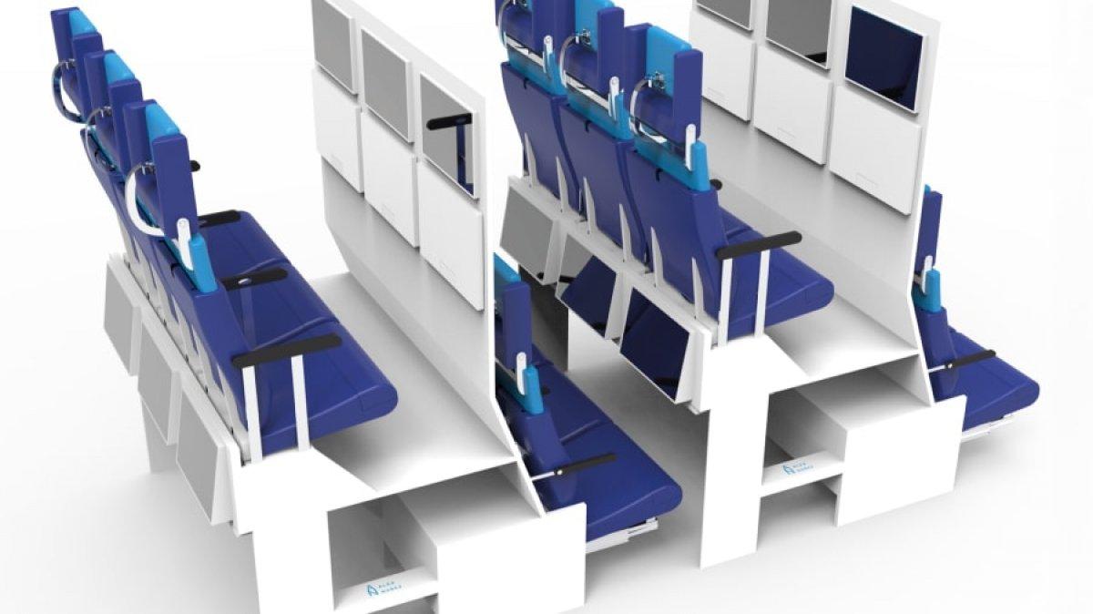 Uçaklardaki koltuk düzenine koronavirüs etkisi #2
