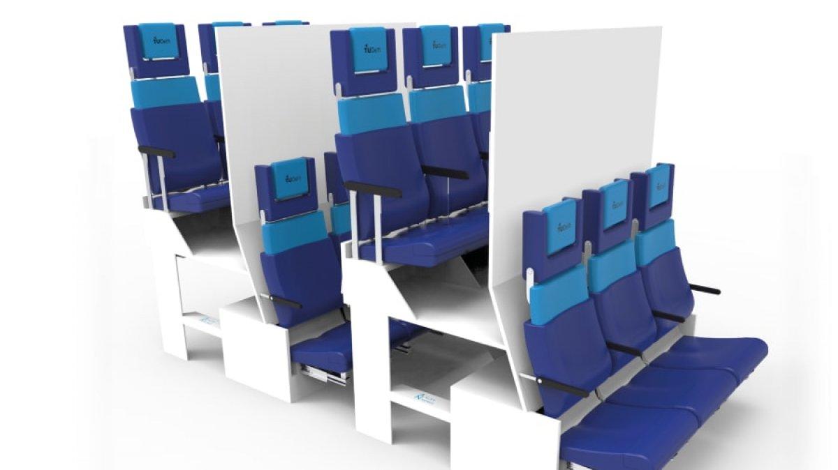 Uçaklardaki koltuk düzenine koronavirüs etkisi #1
