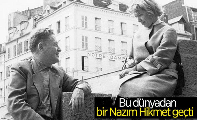 Şair Nazım Hikmet'in 58'inci ölüm yıldönümü