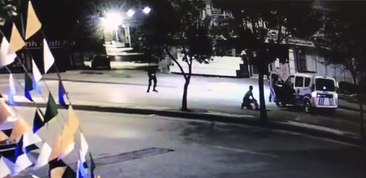Ankara da polis otosuna saldırıp, kaçmaya çalıştı #2