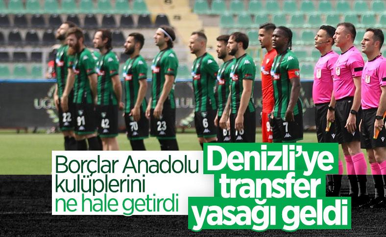 Denizlispor'a transfer yasağı geldi