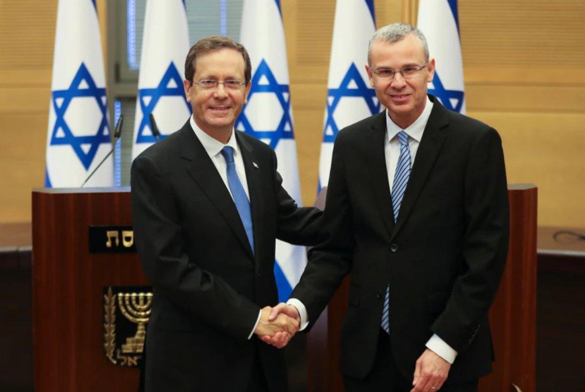 Joe Biden'dan, İsrail'in 11 inci Cumhurbaşkanı Isaac Herzog'a tebrik #2